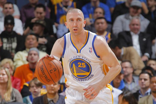 Steve Blake, con los Golden State Warriors