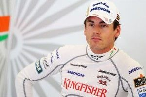 Adrian Sutil con Force India