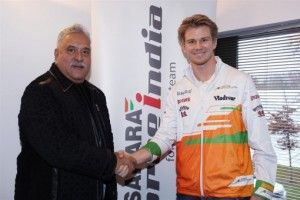 Nico Hülkenberg regresa a Force India (Foto - www.forceindiaf1.com)