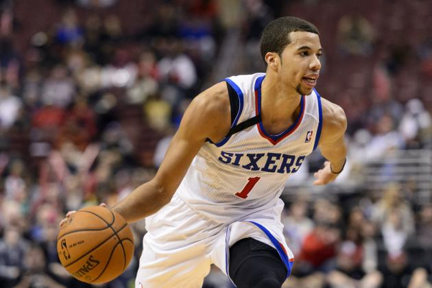 Michael Carter-Williams durante un partido