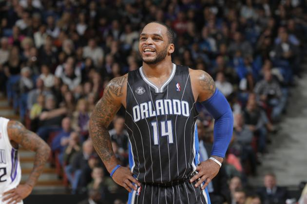 Jameer Nelson, en un partido de los Orlando Magic
